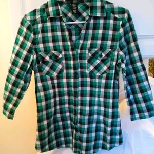 Juniors Button Down Shirt